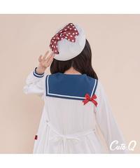 ☆限定予約☆「Marine」ベレー帽  4色 ※お洋服と合わせ買いの方のみ※【5/20まで】