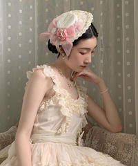 「Miss Coco 2.0」ハット&リボンブローチ セット ※お洋服と合わせ買いの方のみ※【6/20まで】