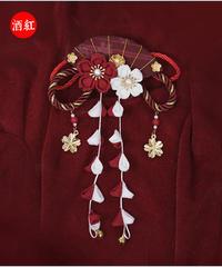 「紫藤の猫~春空幻夢」飾りピン【9/18まで】