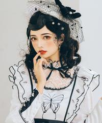 「蝶々の名の下」フレンチハット ※お洋服と合わせ買いの方のみ※【9/24まで】