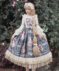 「ポンパドールの肖像画」ジャンパースカート