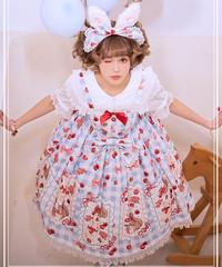 「Berry Forest」ジャンパースカート【4/5まで】