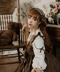 「人形師」ヘッドドレス風ヘアクリップ【2/10まで】