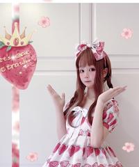「Crown Strawberry」カチューシャ【3/11まで】