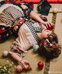 「林檎姫」ショート袖羽織り【2/8まで】