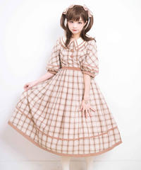 「Double Button」ロングワンピース【3/28まで】