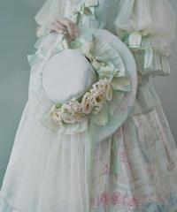 「初恋の続き」ドレスハット(ベール・お花付き)※お洋服と合わせ買いの方のみ※【10/5まで】