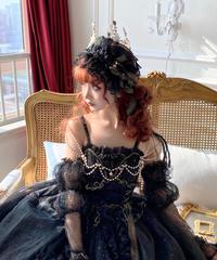 「Lady Death」ヘッドドレス【3/1まで】