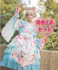 「紫藤の猫~春空幻夢」同色7点フルセット(再販)【3/15まで】
