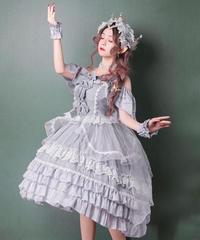 「Glistering Froth」ジャンパースカート【3/11まで】