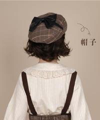 「小探偵」ベレー帽 ※お洋服と合わせ買いの方のみ※【8/18まで】