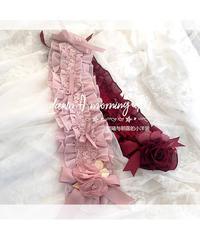 【再販】「Rosey Lady」ヘッドドレス【4/15まで】