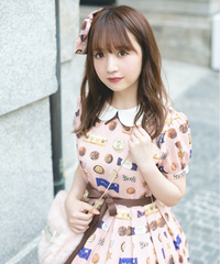 「Gentle Chocolate」ワンピース(6/26まで受注予約)