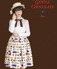 「Gentle Chocolate」スカート(6/26まで受注予約)