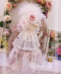 「Elpress L × 青木美沙子 コラボ」イリス丸型ヘッドドレス【3/5まで】