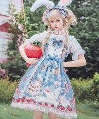「Strawberry Cat」ジャンパースカート