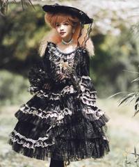 「琥珀」ドレス 黒【数量・期間限定】