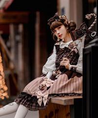 「トロけるチョコレート」リボンカチューシャ(再販)【3/16まで】