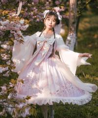 「花夢鸞」ワンピース(春桜/ピンク)【9/15まで】