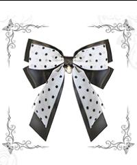「蝶々の名の下」バレッタ(1個)※お洋服と合わせ買いの方のみ※【9/24まで】
