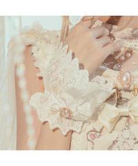 「Swan Wedding」お袖とめ(ペア)※お洋服と合わせ買いの方のみ※【5/20まで】