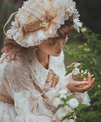 「Flower Room」ハット ※お洋服と合わせ買いの方のみ※【11/11まで】