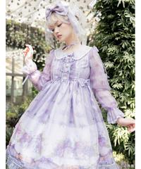 【現品販売】「紫陽花の願い」ワンピース