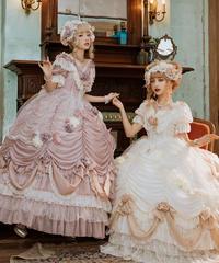 【数量限定】「Sa Majeste la Rose」ドレス&後ろリボン&ヘッドドレス セット【3/28まで】