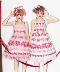 「Crown Strawberry」Ⅰ型フリルジャンパースカート【3/11まで】