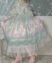 「初恋の続き」オーバースカート ※お洋服と合わせ買いの方のみ※【10/5まで】