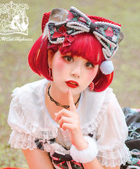 「Strawberry Cat」カチューシャ ※お洋服と合わせ買いの方のみ※