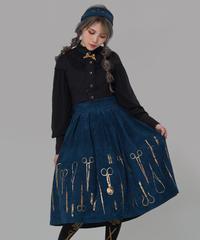 「暗金刀具」スカート