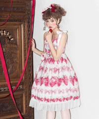 「Crown Strawberry」Ⅱ型リボンジャンパースカート【3/11まで】