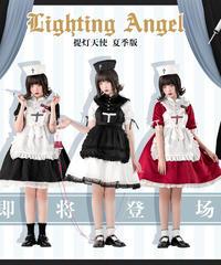 「Lighting Angel」エプロン&付け衿 セット ※OPと合わせ買いの方のみ※【6/19まで】
