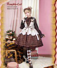 「More Chocolate」ジャンパースカート【3/28まで】