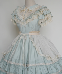 「Hello Anne」オーバースカート ※お洋服と合わせ買いの方のみ※【5/8まで】