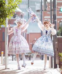 「Jewelry Rabbit」ジャンパースカート【2/18まで】