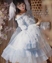 「Moonlight Flower Fairy」オフショルダーブラウス【12/8まで】