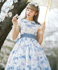 【現品販売】「Everlasting Garden」ジャンパースカート
