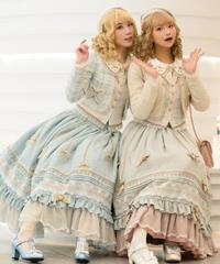 「Fragrance Girl」ロングスカート【2/20まで】