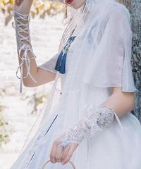 「冠藍鴉」レースグローブ【2/15まで】