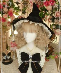 「魔女の時間」魔女っ子帽子(6/20まで受注予約)