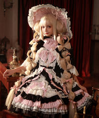 「Witch Pawnshop」ジャンパースカート&キラキラマント セット【10/22まで】