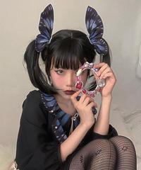 「Isabella's Butterfly」蝶々ヘアクリップ(2個)※OPと合わせ買いの方のみ※【10/10まで】