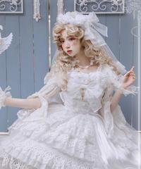 「天国のキス」花冠 ※お洋服と合わせ買いの方のみ※【3/5まで】