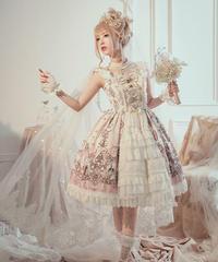 「Swan Wedding」ベールマント付き ドレス【5/20まで】