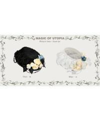 「Withered Flower」ハット ※お洋服と合わせ買いの方のみ※【7/17まで】
