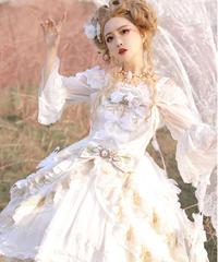 「朝露」ドレスジャンパースカート【4/16まで】