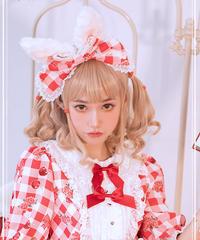 「Berry Forest」うさみみカチューシャ※お洋服と合わせ買いの方のみ※【4/5まで】
