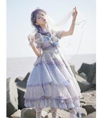 「深海少女」ドレス(ラベンダー)【7/22まで】